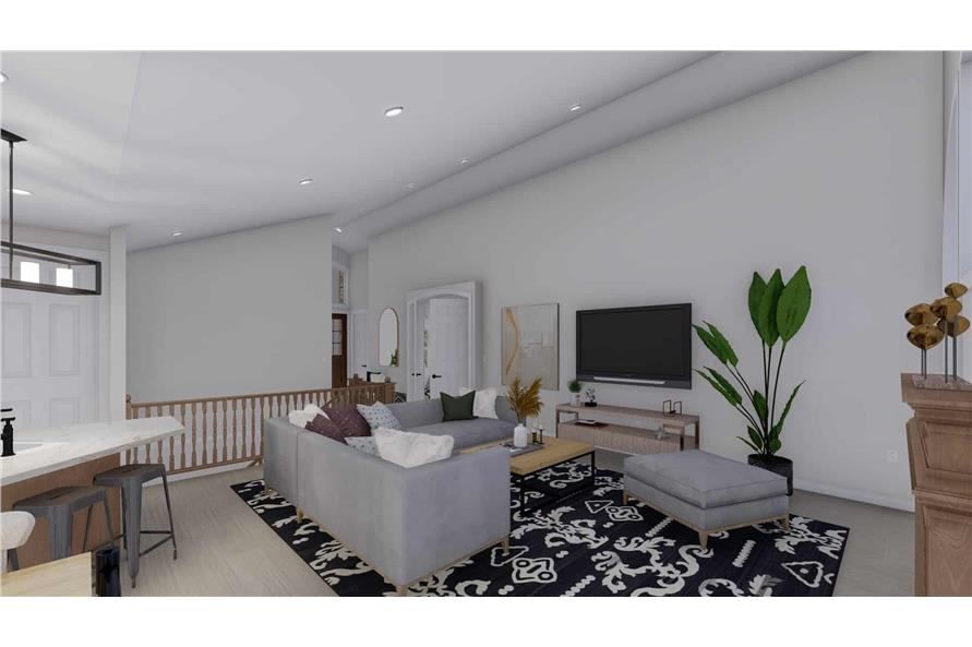 Family Room of this 2-Bedroom,1831 Sq Ft Plan -187-1004