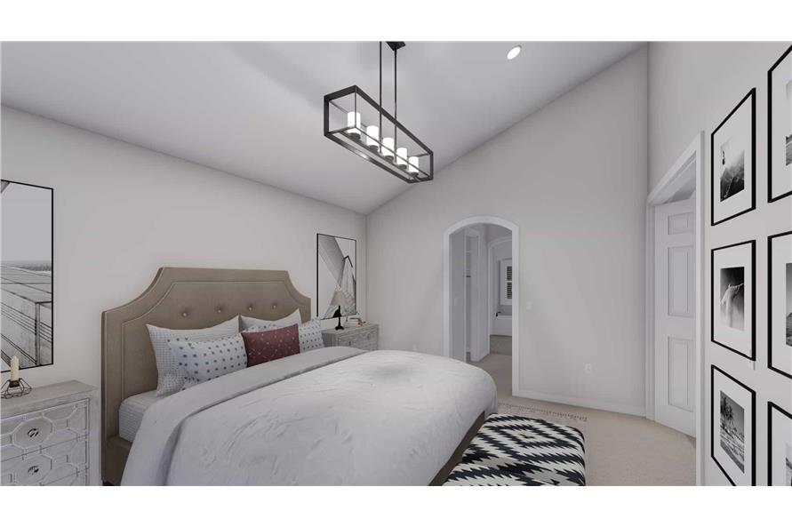 Master Bedroom of this 2-Bedroom,1831 Sq Ft Plan -187-1004