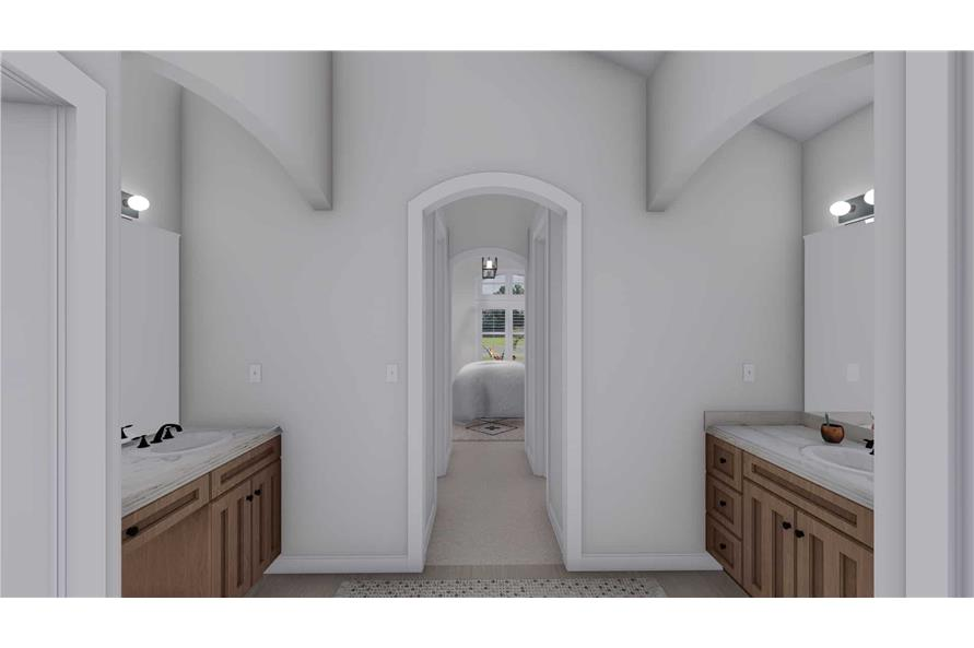 Master Bathroom of this 2-Bedroom,1831 Sq Ft Plan -187-1004