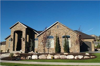 2–5-Bedroom, 1831–3618 Sq Ft Tuscan House - Plan #187-1004 - Front Exterior