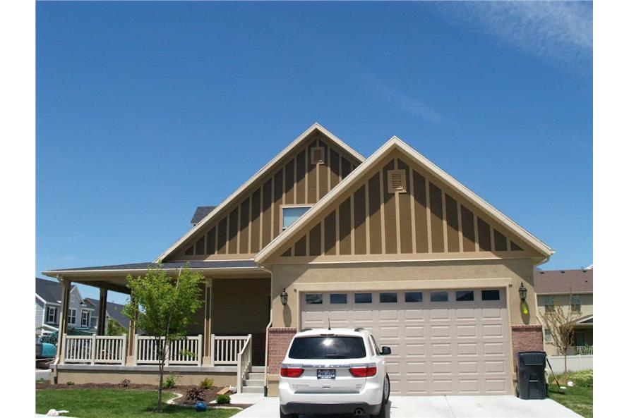 Right Side View of this 3-Bedroom,2631 Sq Ft Plan -187-1006