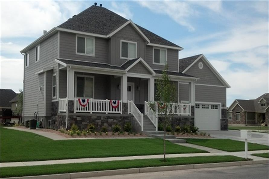 Home Exterior Photograph of this 5-Bedroom,3016 Sq Ft Plan -187-1007