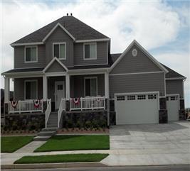 House Plan #187-1007