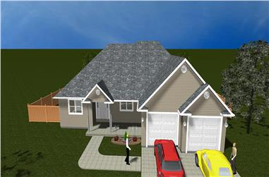 3–5-Bedroom, 1729 Sq Ft Traditional Home - Plan #187-1017 - Main Exterior