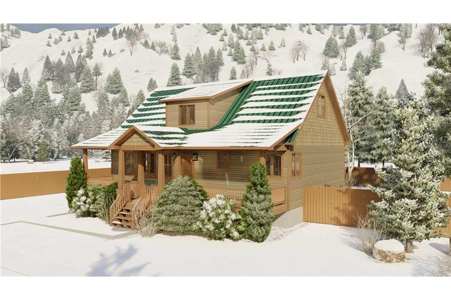 Right View of this 5-Bedroom,1868 Sq Ft Plan -187-1029