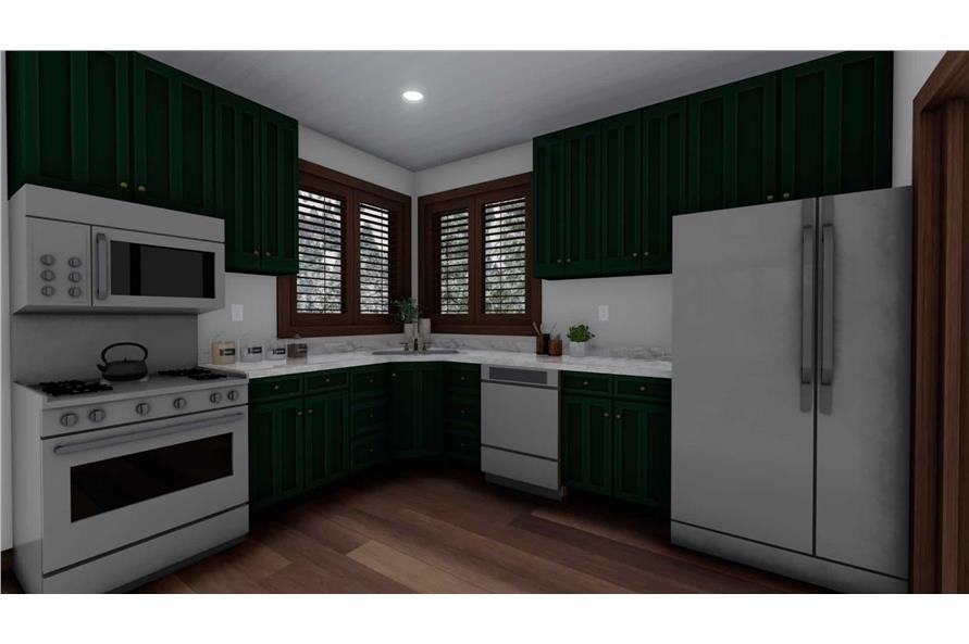 Kitchen of this 5-Bedroom,1868 Sq Ft Plan -187-1029
