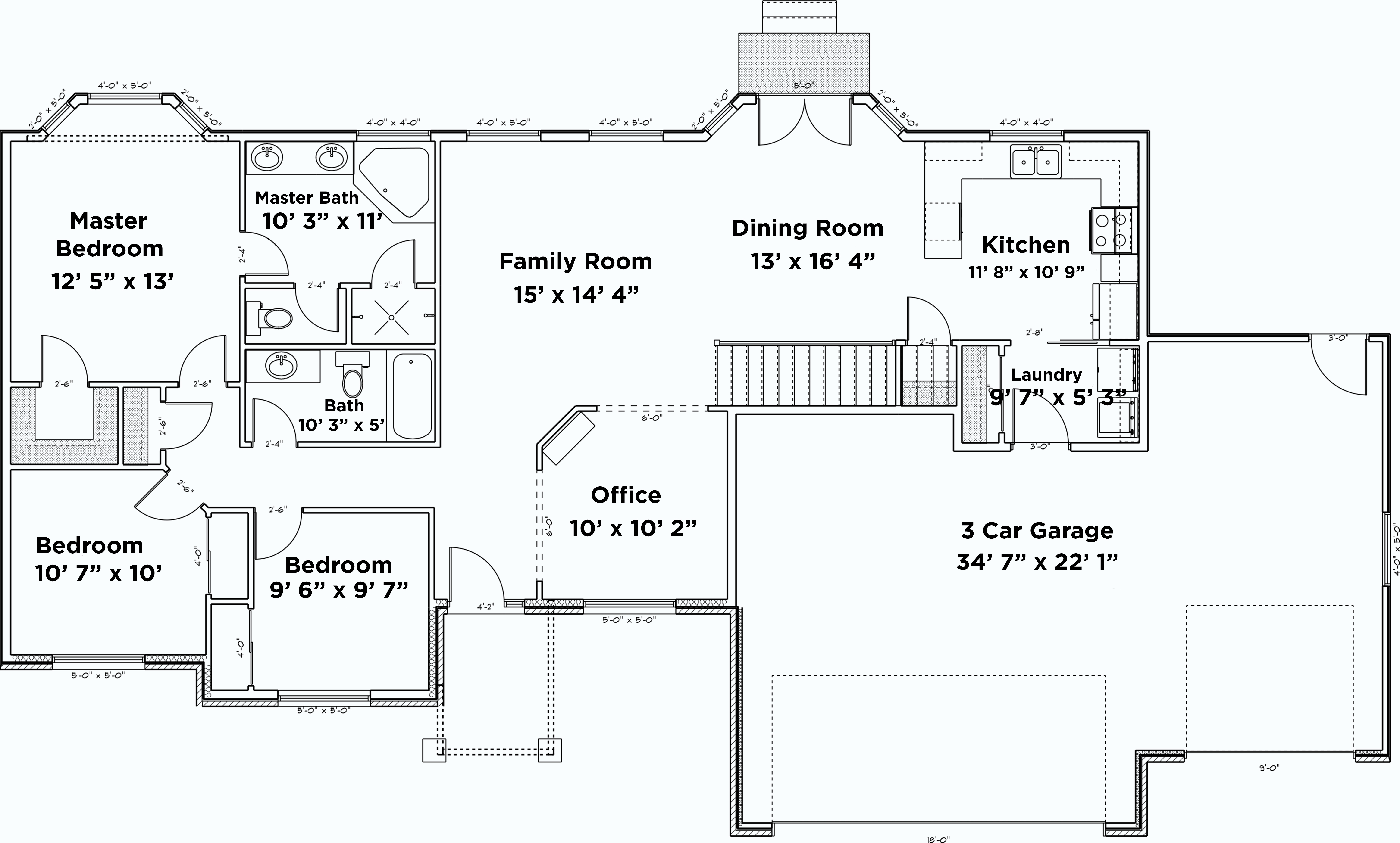 House plan 187 1048 5 bdrm 1 555 sq ft traditional home for 10 x 11 room square feet