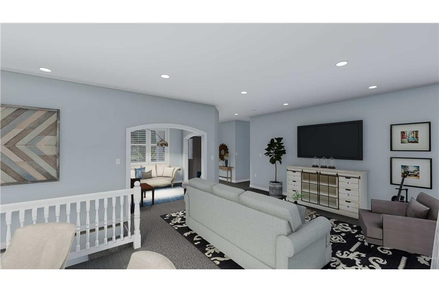 Family Room of this 3-Bedroom,1555 Sq Ft Plan -187-1048