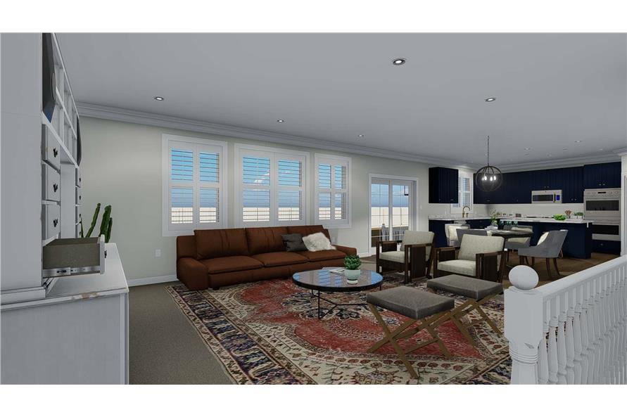 Great Room of this 3-Bedroom,2085 Sq Ft Plan -2085