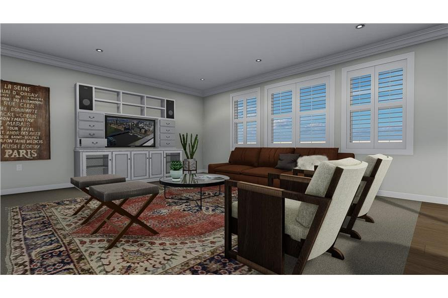 Family Room of this 3-Bedroom,2085 Sq Ft Plan -2085
