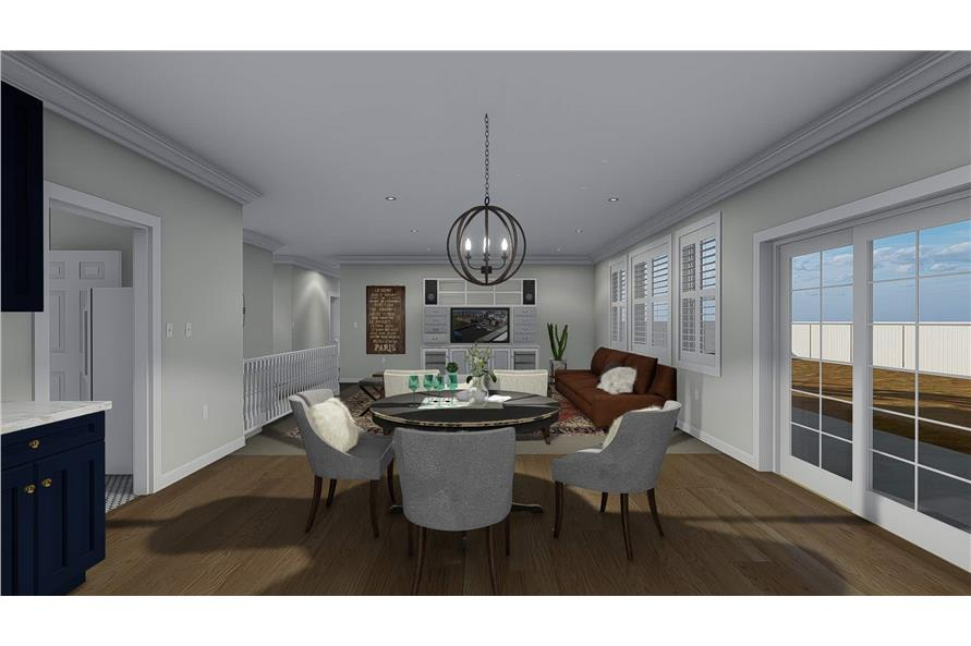 Dining Room of this 3-Bedroom,2085 Sq Ft Plan -2085