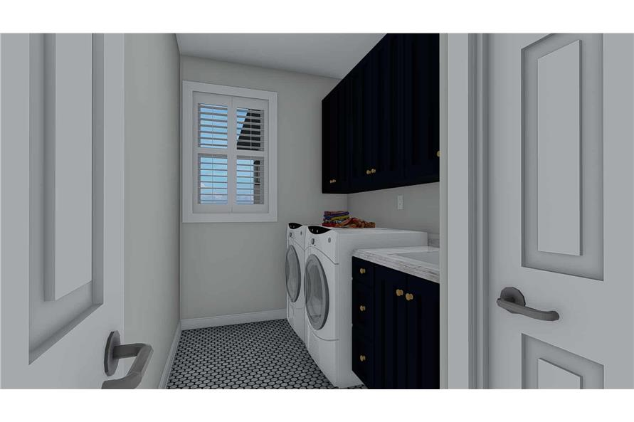 Laundry Room of this 3-Bedroom,2085 Sq Ft Plan -2085