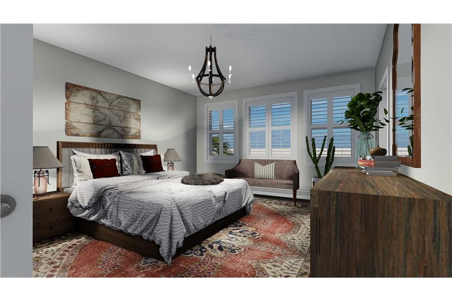 Master Bedroom of this 3-Bedroom,2085 Sq Ft Plan -2085