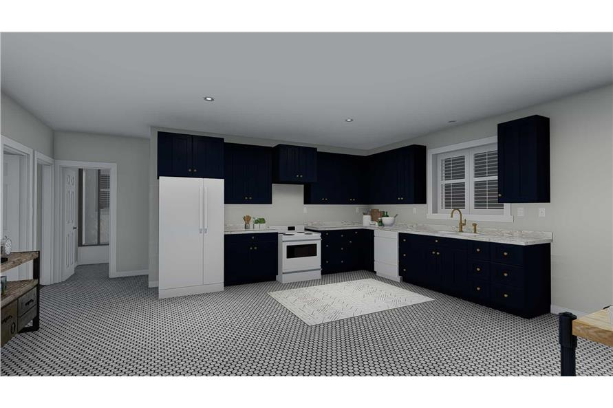 Kitchen of this 3-Bedroom,2085 Sq Ft Plan -2085