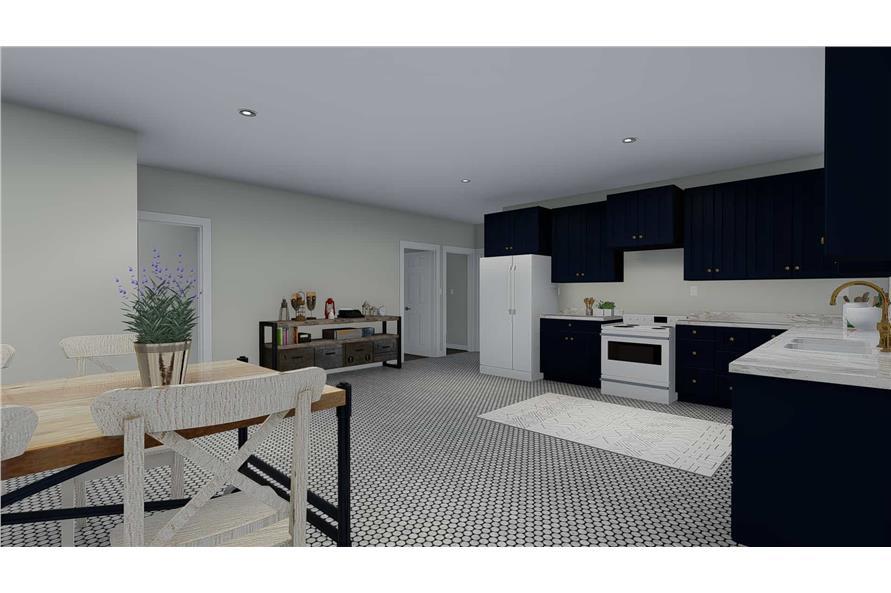 Kitchen: Breakfast Nook of this 3-Bedroom,2085 Sq Ft Plan -2085