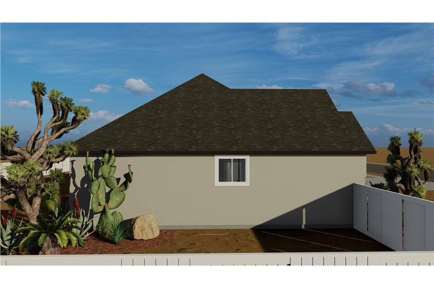 Right View of this 3-Bedroom,2085 Sq Ft Plan -2085