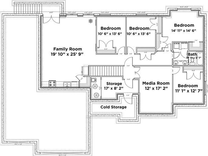 ... 187 1124: Floor Plan Basement