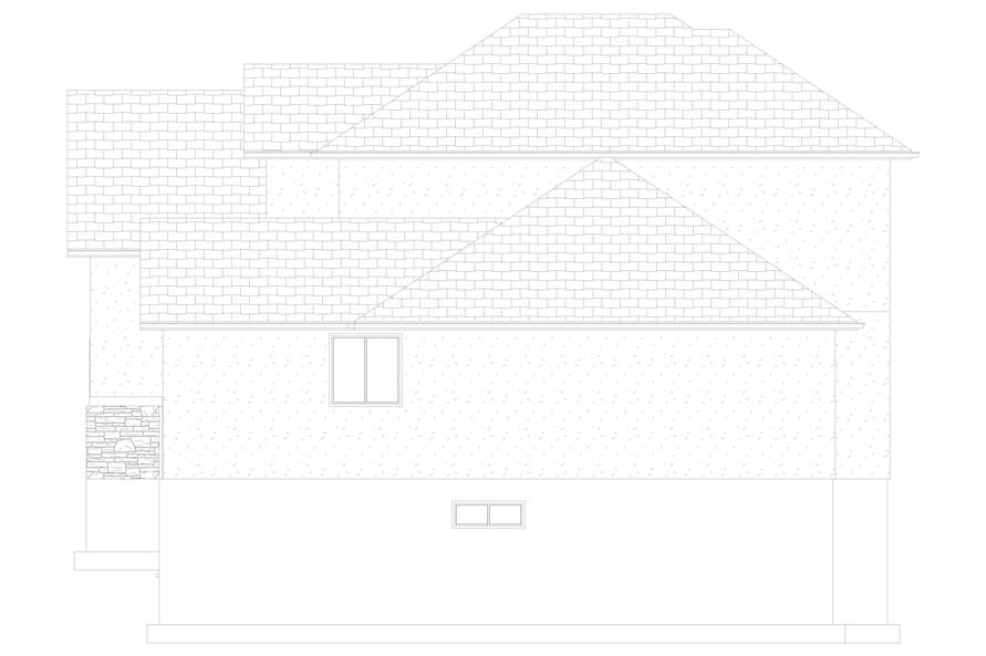 187-1139: Home Plan Right Elevation