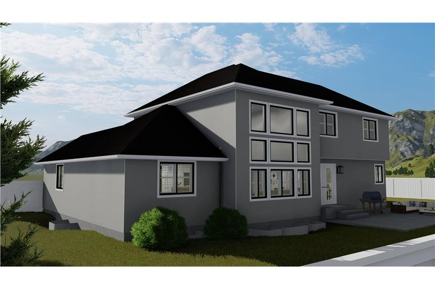 187-1139: Home Plan Rendering