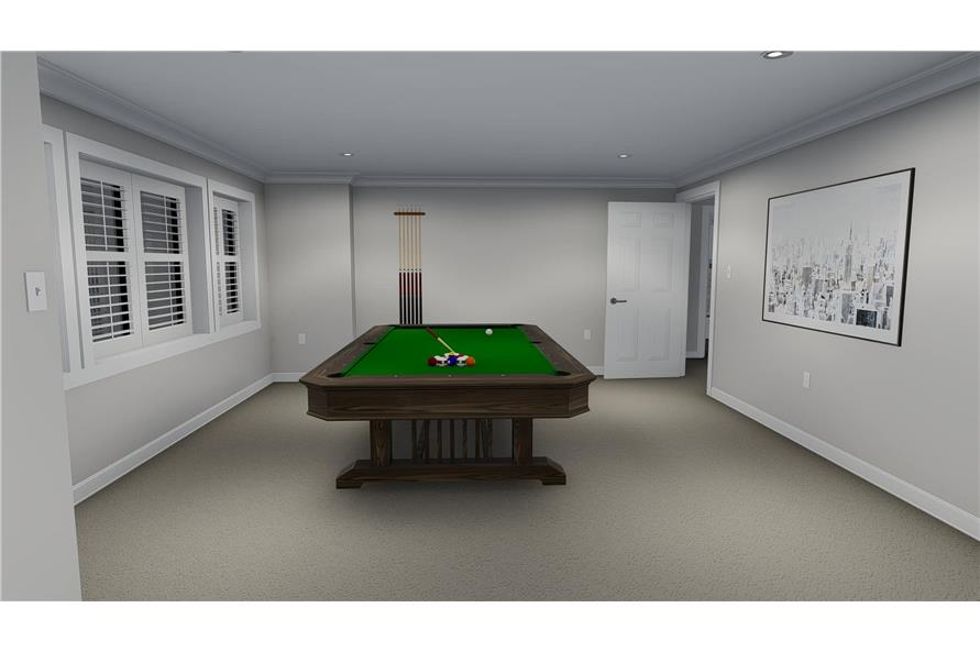 187-1139: Home Plan Rendering-Playroom