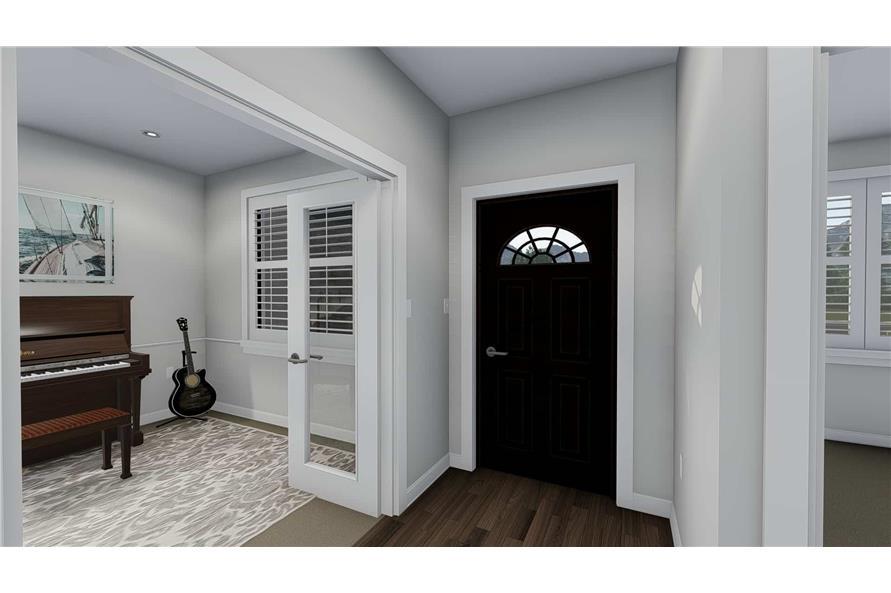 Front Door of this 3-Bedroom,2050 Sq Ft Plan -2050