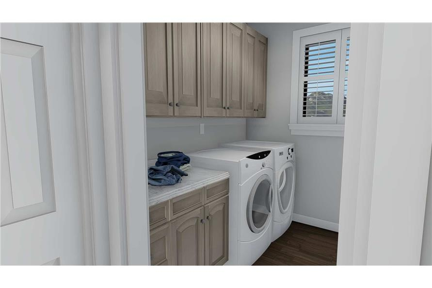 Laundry Room of this 3-Bedroom,2050 Sq Ft Plan -2050