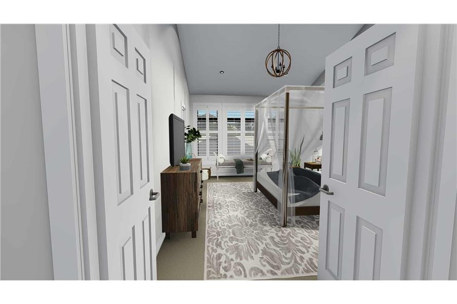 Master Bedroom of this 3-Bedroom,2050 Sq Ft Plan -2050