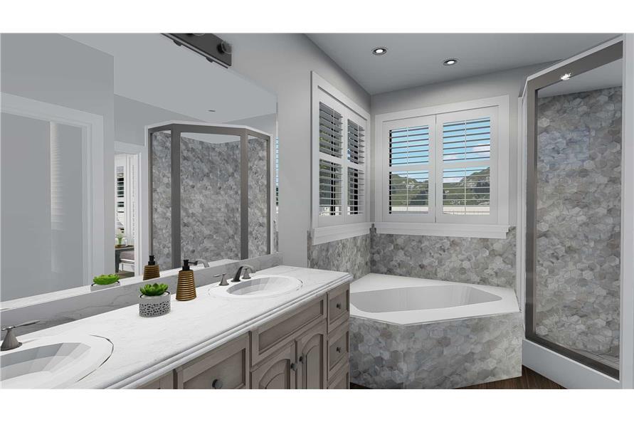 Bathroom of this 3-Bedroom,2050 Sq Ft Plan -2050