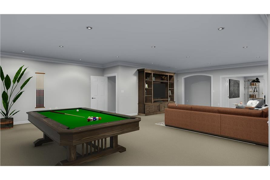 Playroom of this 3-Bedroom,2050 Sq Ft Plan -2050