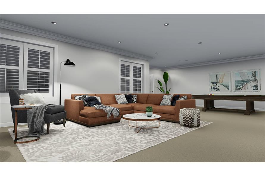 Family Room of this 3-Bedroom,2050 Sq Ft Plan -2050
