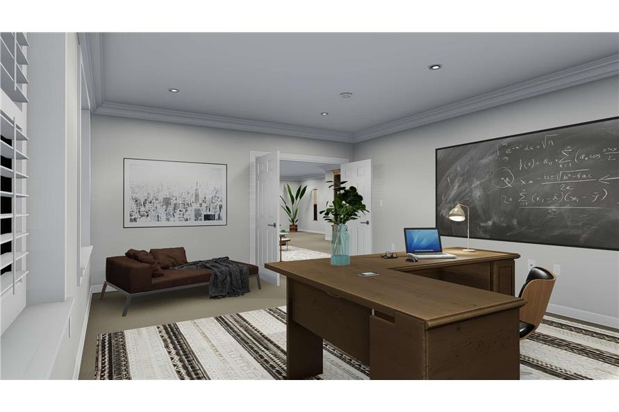 Home Office of this 3-Bedroom,2050 Sq Ft Plan -2050