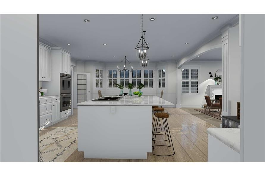 Kitchen of this 4-Bedroom,3821 Sq Ft Plan -3821