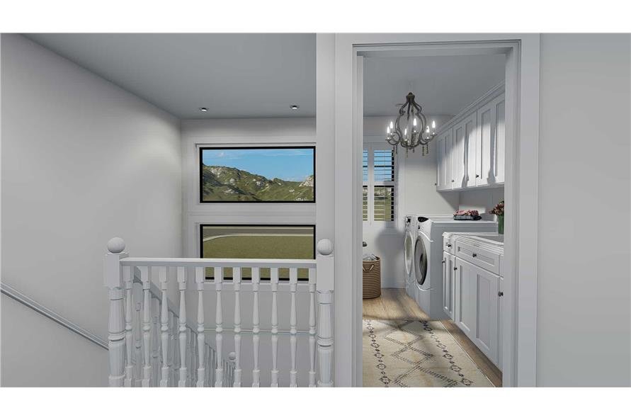 Laundry Room of this 4-Bedroom,3821 Sq Ft Plan -3821