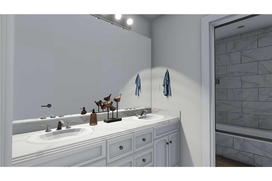 Bathroom of this 4-Bedroom,3821 Sq Ft Plan -3821