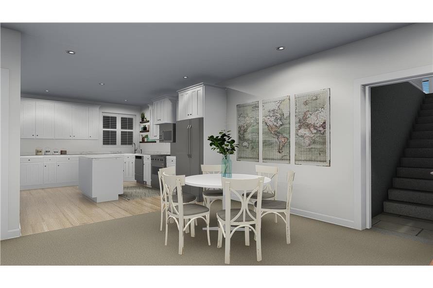 Kitchen: Breakfast Nook of this 4-Bedroom,3821 Sq Ft Plan -3821
