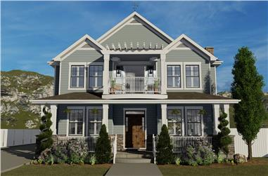 4-Bedroom, 3821 Sq Ft Cottage House - Plan #187-1142 - Front Exterior