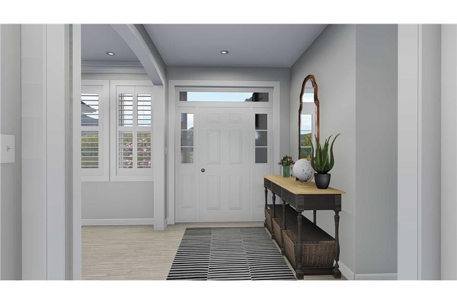 Entry Hall of this 5-Bedroom,2254 Sq Ft Plan -2254