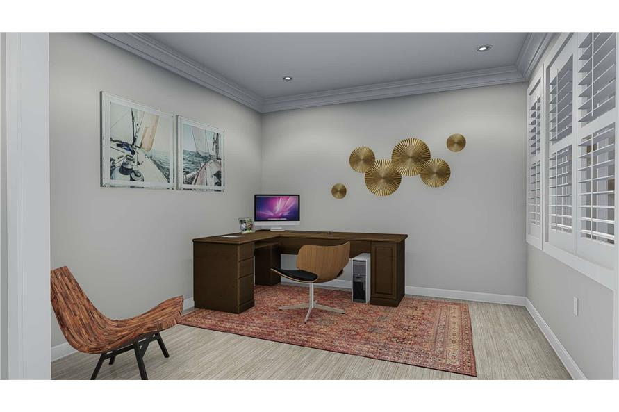 Home Office of this 5-Bedroom,2254 Sq Ft Plan -2254