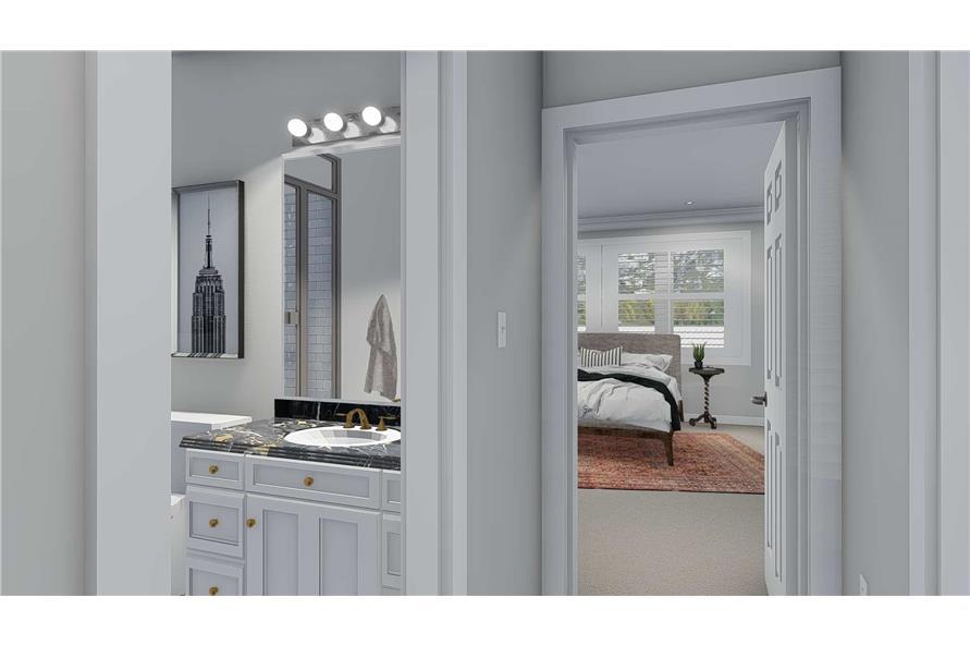 Bathroom of this 5-Bedroom,2254 Sq Ft Plan -2254