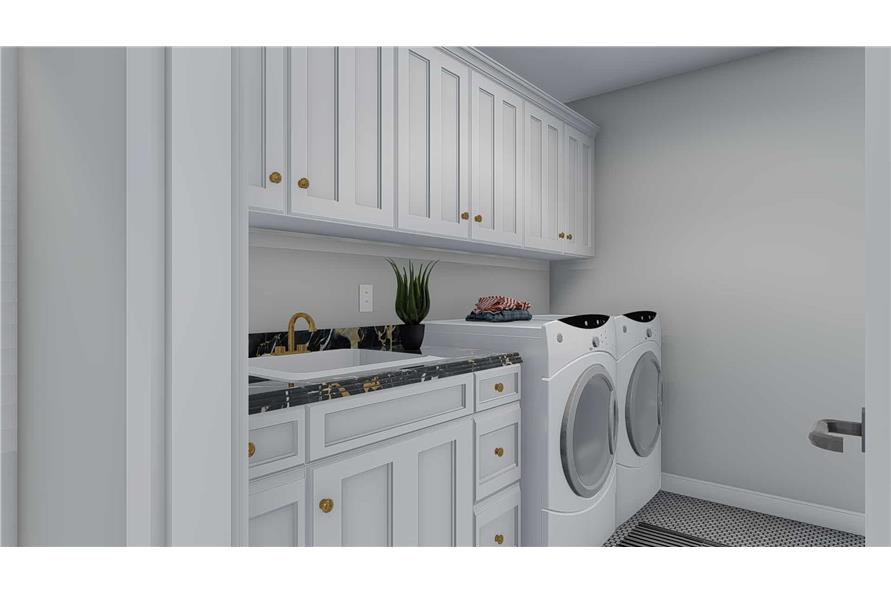Laundry Room of this 5-Bedroom,2254 Sq Ft Plan -2254