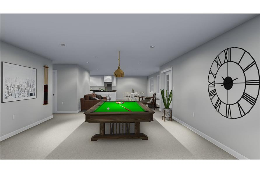 Playroom of this 5-Bedroom,2254 Sq Ft Plan -2254