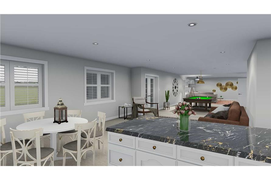 Kitchen of this 5-Bedroom,2254 Sq Ft Plan -2254