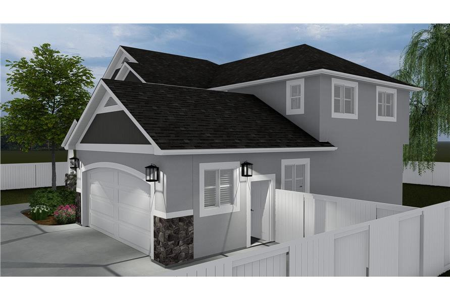 Right View of this 4-Bedroom,2473 Sq Ft Plan -2473