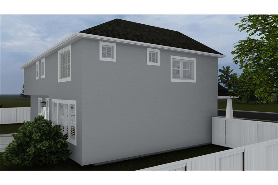 Side View of this 4-Bedroom,2473 Sq Ft Plan -2473
