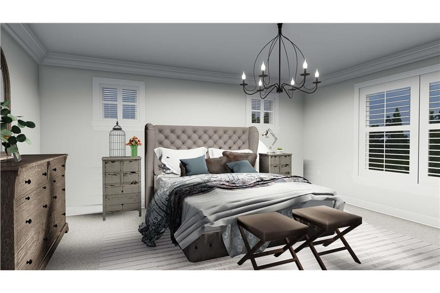 Master Bedroom of this 4-Bedroom,2473 Sq Ft Plan -2473