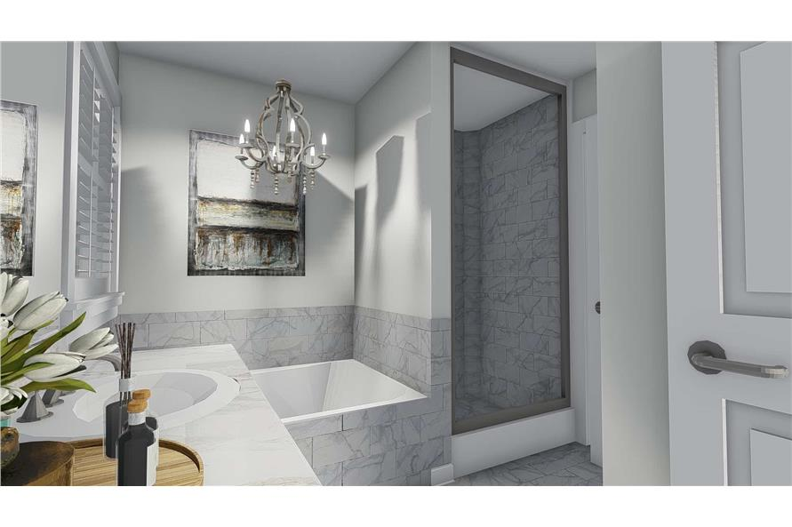 Master Bathroom of this 4-Bedroom,2473 Sq Ft Plan -2473