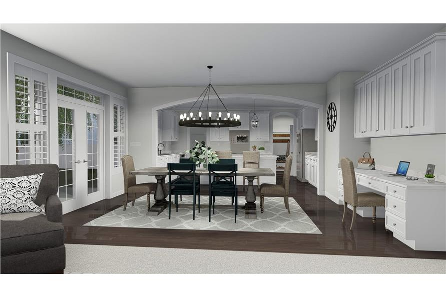 Kitchen of this 4-Bedroom,2473 Sq Ft Plan -2473
