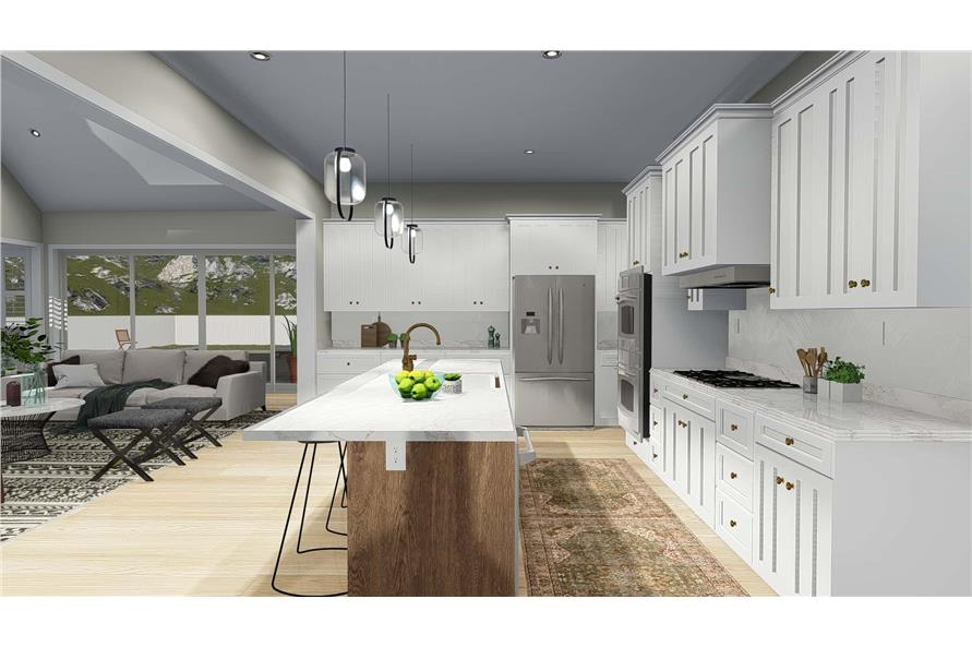 Kitchen of this 5-Bedroom,4658 Sq Ft Plan -4658