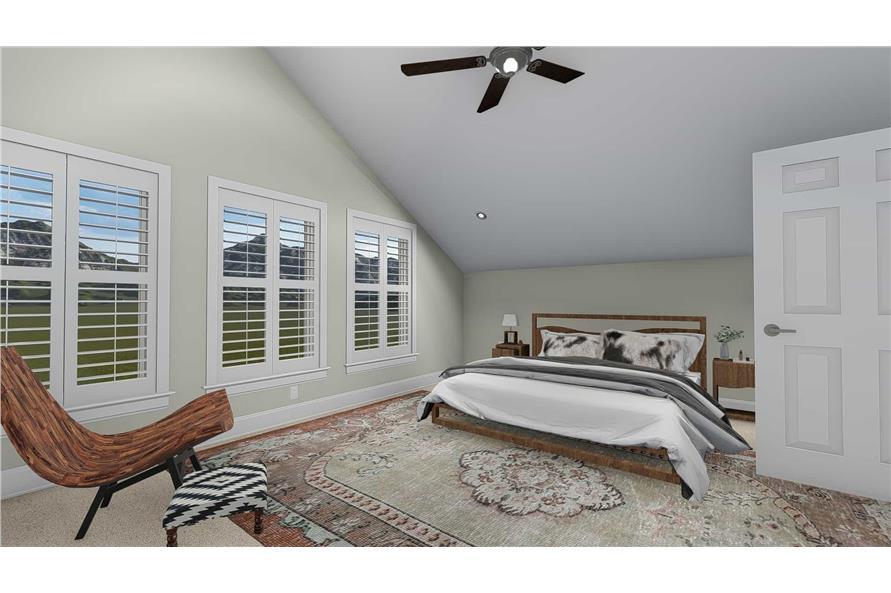 Bedroom of this 5-Bedroom,4658 Sq Ft Plan -4658
