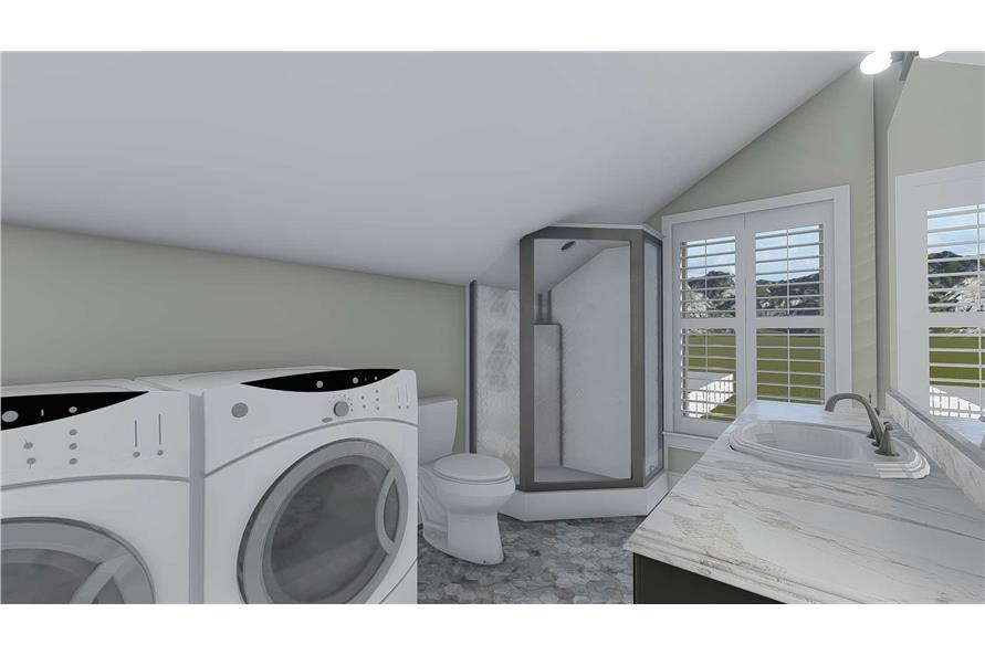Bathroom of this 5-Bedroom,4658 Sq Ft Plan -4658